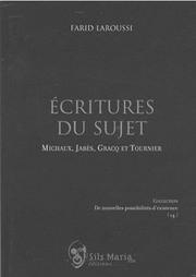 Cover_Écritures du sujet
