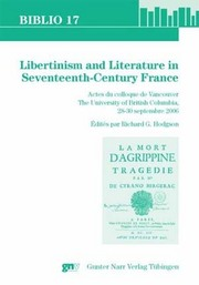 Cover_Libertinism and literature